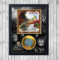 HELLOWEEN KEEPER PART 2 CUADRO CON GOLD O PLATINUM CD EDICION LIMITADA. FRAMED