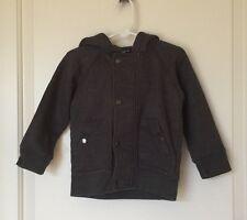 NEW BABY GAP Charcoal Gray Jacket/Hoodie, SZ 3T