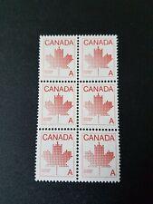 Canada Stamp #907 - Maple Leaf (1981) A (6 x 30¢)