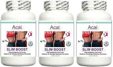 3 Fat Burner Energy Boost Diet Pills Training Aid Lean Muscle Stomach Fat Toning