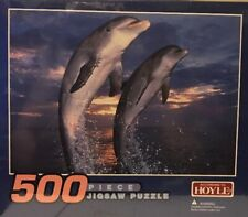 According To Hoyle 500 Piece Dolphin Puzzle