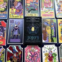Anime Game JoJo's Bizarre Adventure Tarot Card  Cosplay Props Board Gift 31 PCS
