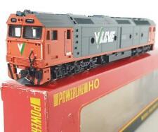 RARE POWERLINE HO P221 - AUSTRALIAN VICTORIA V/LINE LIVERY CLASS G DIESEL G521