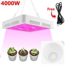 2000/4000 Luz LED para Crecimiento de espectro wfull Planta Flor Floración Carpa Hidropónico Interior