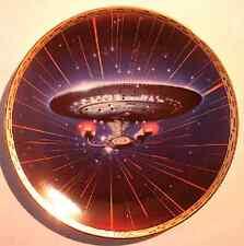 """Star Trek: Tng plate, """"Enterprise"""" full-size, mint"""