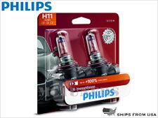 2x Original PHILIPS X-treme Vision +100% H11 Halogen Headlight bulbs 12362XVB2