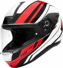 SCHUBERTH R2 ENFORCER RED MOTORCYCLE HELMET  *HALF PRICE*- MEDIUM