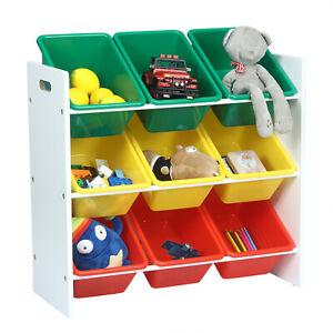 Spielzeugkiste Aufbewahrungsbox Spielzeugbox Kinder Kinderzimmer Regal 0004ETSJ