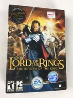 The Lord of the Rings Return of the King DVD-ROM 2003 PC Game New sealed
