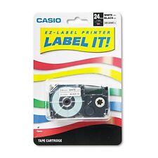 Casio Label Printer Tape - XR24WE