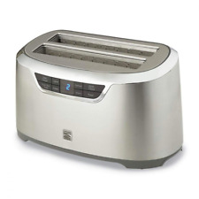 Kenmore Elite 76774 4-Slice Auto-Lift Long Slot Toaster in Stainless Steel