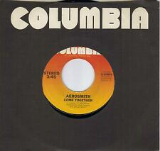 AEROSMITH  Come Together  rare soundtrack 45 from 1978