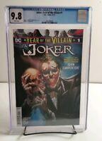 Joker Year of The Villian #1 CGC 9.8