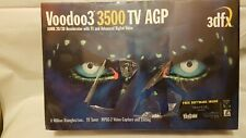 3DFX VOODOO3 3500 TV AGP GRAPHICS CARD - Some tear to shrink-wrap.