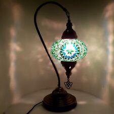 Turkish Marocain Coloré Verre Mosaïque Lampe Lumière Table Ce Certifié
