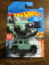 2018 HOT WHEELS '15 Land Rover Defender Double Cab Truck 7/10 Factory Sealed set