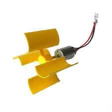 1 Pc LED lights DIY DC Micro Motor Vertical Axis Wind Turbine Generator Blades