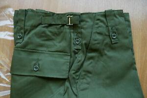 "NEW British Army Issue Green Lightweight Trousers 85/96/112 - 38"" Waist, 33"" Leg"
