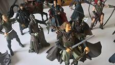 lot de 10 figurines - Le Seigneur des Anneaux - 2001 2005
