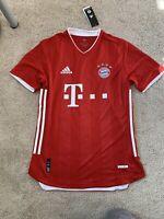 Adidas 2020-2021 Bayern Munich Jersey Lewandowski #9 Size Large