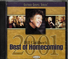"""BILL GAITHER'S...""""BEST OF HOMECOMING 2001""""...""""GAITHER GOSPEL SERIES""""......NEW CD"""