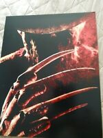 ROBERT ENGLUND SIGNED 8X10 PHOTO FREDDY KRUEGER W/COA+PROOF RARE WOW