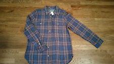 GAP Long Sleeve Men's Plaid Shirt Button Down  RN54023   100% Cotton XL