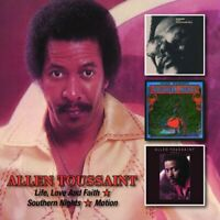 Allen Toussaint - Love, Life and Faith/Southern Nights/Motion [CD]