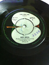 """MARY HOPKINS APPLE those were the days rare SINGLE 7"""" 45RPM INDIA INDIAN VG+"""