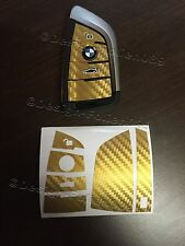 Carbon Gold Folie Schlüssel BMW X6 F16 M X5 F15 M Gran Tourer F46 Active