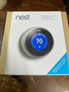Nest 2nd Generation Learning Thermostat (T200577) Brand New Opened Box