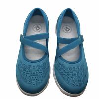 Propet Travelactiv Mary Jane Flats - Women's Size 6.5 X(2E) - Blue