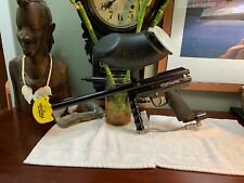 PMI Piranha Paintball Gun +VL200 Hopper+Barrel+Plug Excellent Shape LOT