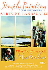 NEW SEALED DVD Frank Clarke's Simply Painting Watercolours STRIKING LANDSCAPES