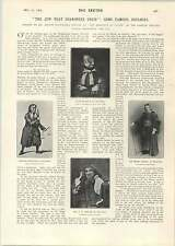 1905 Some Famous Shylock's Visit To A Wrinkle Destroyer