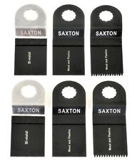 6 Blade Mix C for Worx Sonicrafter Hex Drive Multitool