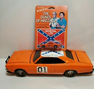 ERTL DUKES OF HAZZARD DODGE CHARGER WARNER BROS 1981 CAR 1:16 and 1/64 NIP