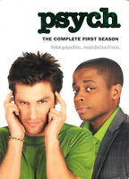 Psych - The Complete First Season ~ DVD WS 4-Disc Box Set ~ FREE Shipping USA