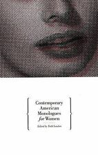 NEW - Contemporary American Monologues for Women