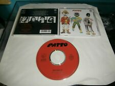 CD PATTO HOLD YOUR FIRE REPERTOIRE RECORD 1993