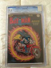 DC COMICS BATMAN #25 7.5 cgc only golden age joker/penguin team up 1944