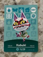 KABUKI #037 Animal Crossing Amiibo Card Mint From Either Series 1, 2, 3, 4, 5.