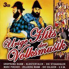 Urige Hits der Volksmusik URSPRUNG BUAM DIE STOAKOGLER MARC PIRCHER EDLSEER 3CD