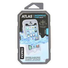 Incipio ATLAS Waterproof Protective Tempered Glass Case iPhone 5S & 5 Grey White