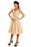 Ladies 1950's Retro Vintage Swing Prom Polka Dot Rockabilly Swing Party Dress