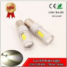 2PCS High Power 80W White 1157 2357A 1157A 7528 2057 COB LED Turn Signal Light