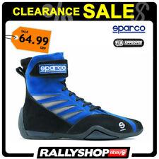 Sparco Shark FIA Chaussures, Bleu Taille 38 sport Racewear Course Kart Drive Bottes vente