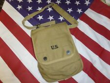 Porte cartes US Mle 1938 ( case canvas Dispatch M-1938 map holder  WW2 MILITARIA