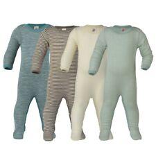 ENGEL Baby Schlafoverall Body Overall Anzug Wolle/Seide NEU Schlafanzug mit Fuß