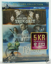 3 Films - True Grit + Rango + Cowboys and Aliens Box Set Blu-ray Region B NEW